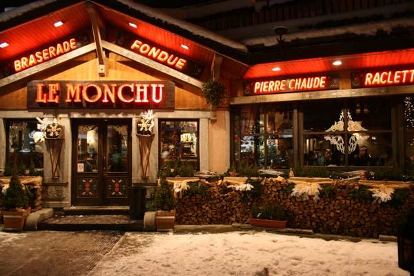 Ресторан в Шамони