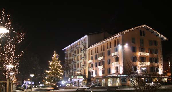 Сказочный ночной Шамони / Chamonix