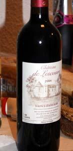 бутылка вина Сен Эмильен