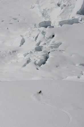 Самуэль Антаматен. Ледник Вайсхорн