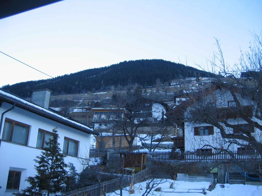 Австрия Флисс, вид из окна