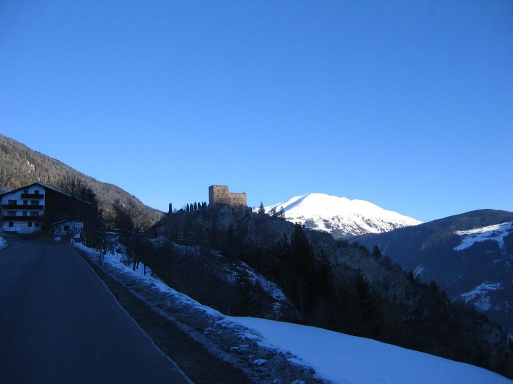 Австрия крепость по дороге в Ладис