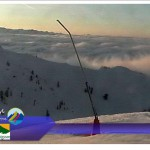 Снег в горах. Норвегия / Швеция Германия Болгария на 30.01