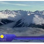 Снег в горах. Швейцария Италия Андорра на 30.01
