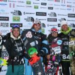 Ревелсток 2 день - фрирайд финал на сноуборде
