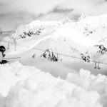 Снег в горах. Австрия Франция на 26.01