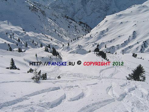 Горнолыжные курорты Австрии: Лех Lech, 45 трасса