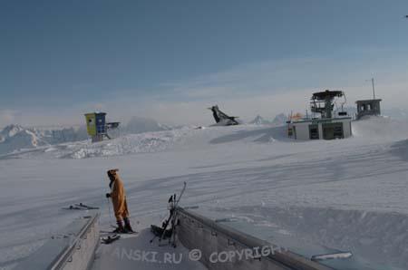 Австрия, горнолыжный курорт Венет, выезд из ресторан-панорама