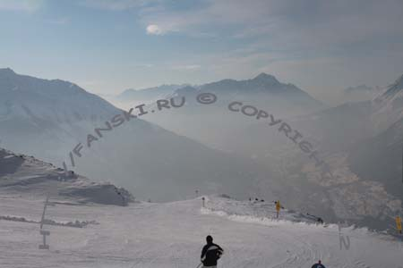 Австрия горнолыжный курорт Венет