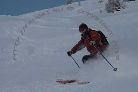 Австрия горнолыжный курорт Венет, фрирайд