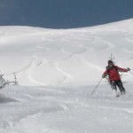 Австрия, фрирайд / Austria, powder day, freeride