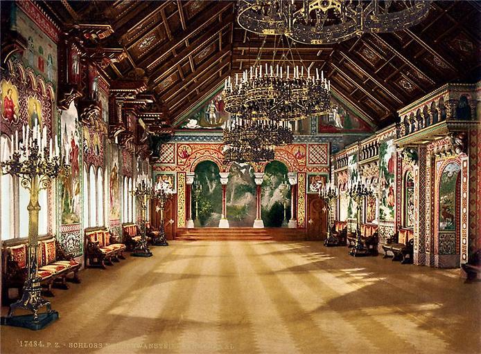 Нойшванштайн, Певческий зал