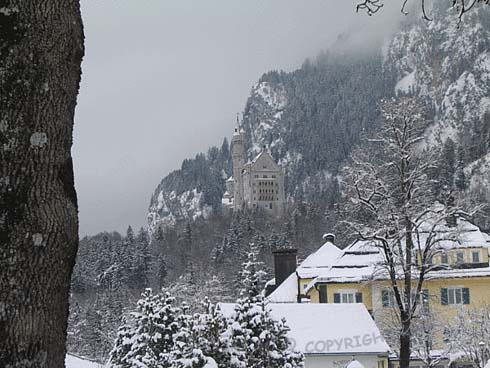 замок Нойшванштайн / Schloß Neuschwanstein
