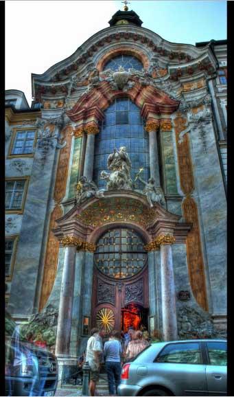 Мюнхен, Церковь Св.Иоанна Непомука / Munchen, Azamkirhe