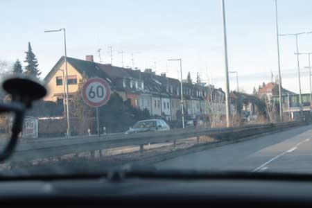 въезжаем в Мюнхен / Munchen