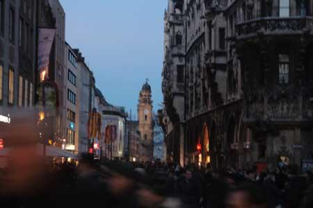 улочки Мюнхена