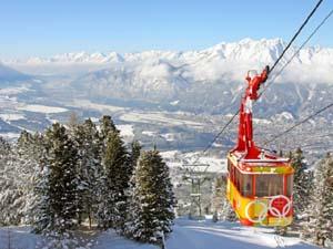 Город и горнолыжный курорт Инсбрук / Innsbruck, Австрия