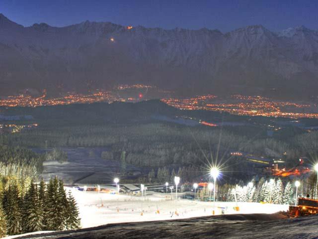 Инсбрук, Патчеркофель - ночное катание