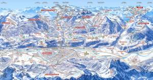 Инсбрук / Innsbruck - Схема трасс