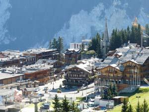 Куршевель / Courchevel - горнолыжный курорт, Франция