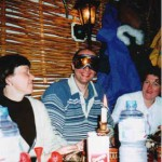 горнолыжники в ресторане в Пампорово / Pamporovo