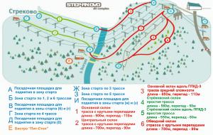 Схема трасс в Степаново