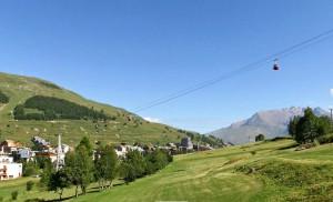 Курорт Ле дез Альп летом