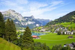 курорты Швейцарии: Энгельберг / Engelberg