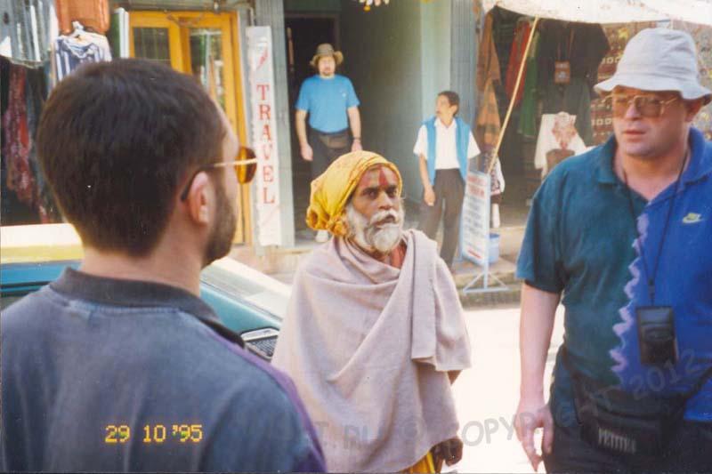 В Непале много индийцев