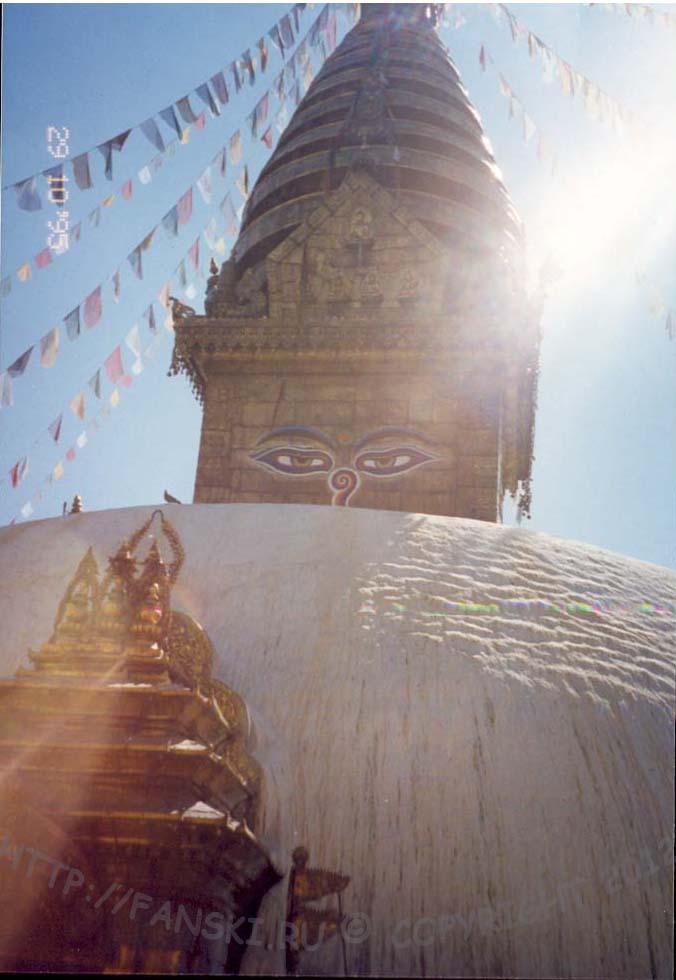 Сваямбунатх - Обезьяний храм