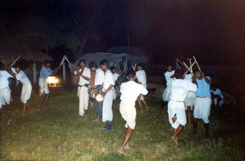 Танец войны Тару