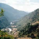 Непал, горы в долине Покхары