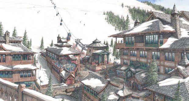 Проект гималайской лыжной деревни