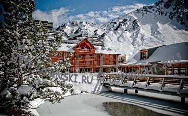 Гранд Турмале: уютный Бареж и удобный Ла Монжи. Пиренеи, Франция