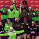 Кандидаты в национальную сборную США по горным лыжам