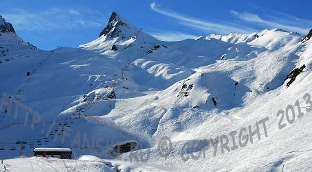 Люз Ардиден:  горнолыжная станция, Пиренеи, Франция