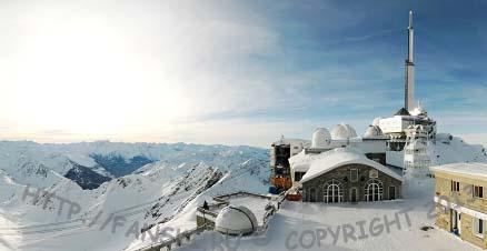 Горнолыжная станция Пик - дю – Миди, Пиренеи, Франция