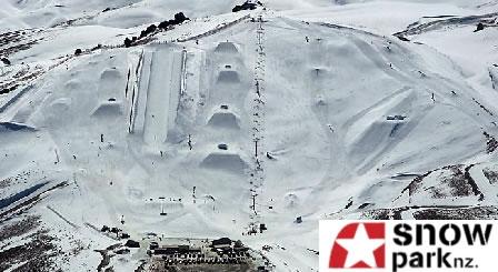 новозеландский сноупарк Snow Park NZ