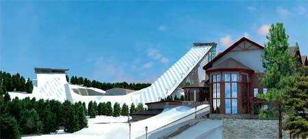 Федеральный Центр подготовки сборных команд по лыжным гонкам, биатлону и фристайлу в Токсово