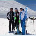 Двукратная чемпионка мира Тина Мазе приступила к тренировкам