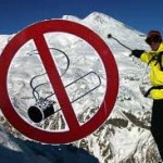 Запрет на курение на горнолыжных курортах