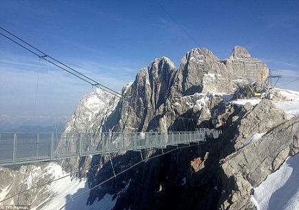 Самый высокий мост  Австрии (Дахштайн)