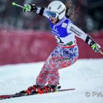 Россияка заняла второе место в гигантском слаломе на Кубке НЗ