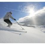 Где еще можно покататься на горных лыжах  августе?