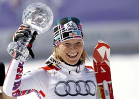 Marlies Schild. AUSTRIA ALPINE SKIING WORLD CUP