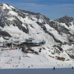 Снег снова выпал в Альпах,  открываются новые курорты
