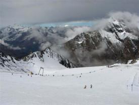 Ледник Штубай, Австрия.