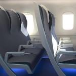 Сиденья, которые могут революционизировать воздушное путешествие.