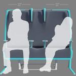 Сиденья можно регулировать в соответствии с потребностями различных пассажиров.