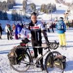 Джеки Делоп доехал до Сочи из Куршевеля на своем велосипеде!